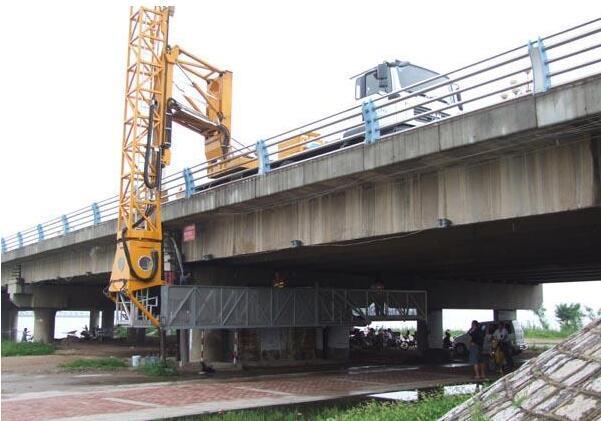 火灾受损桥梁检测效果图