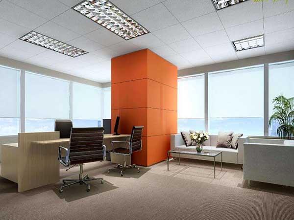 采用装饰装修材料或饰物对建筑物的内外表面及空间进行的各种处理过程